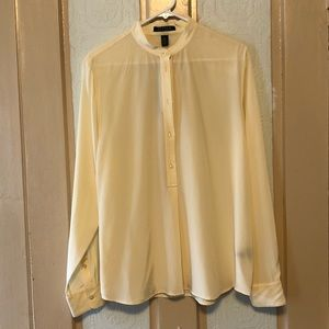 NWT Ralph Lauren silk tunic long sleeve top blouse